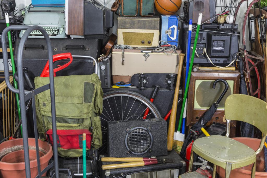 Cluttered storage